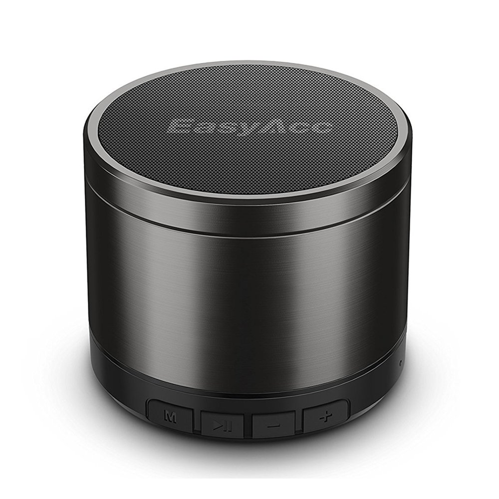 EasyAcc Mini 2 Portable Bluetooth 4.1 Speaker with 5W Driver, Enhanced Bass, 10-Hour Playtime, FM Radio and More