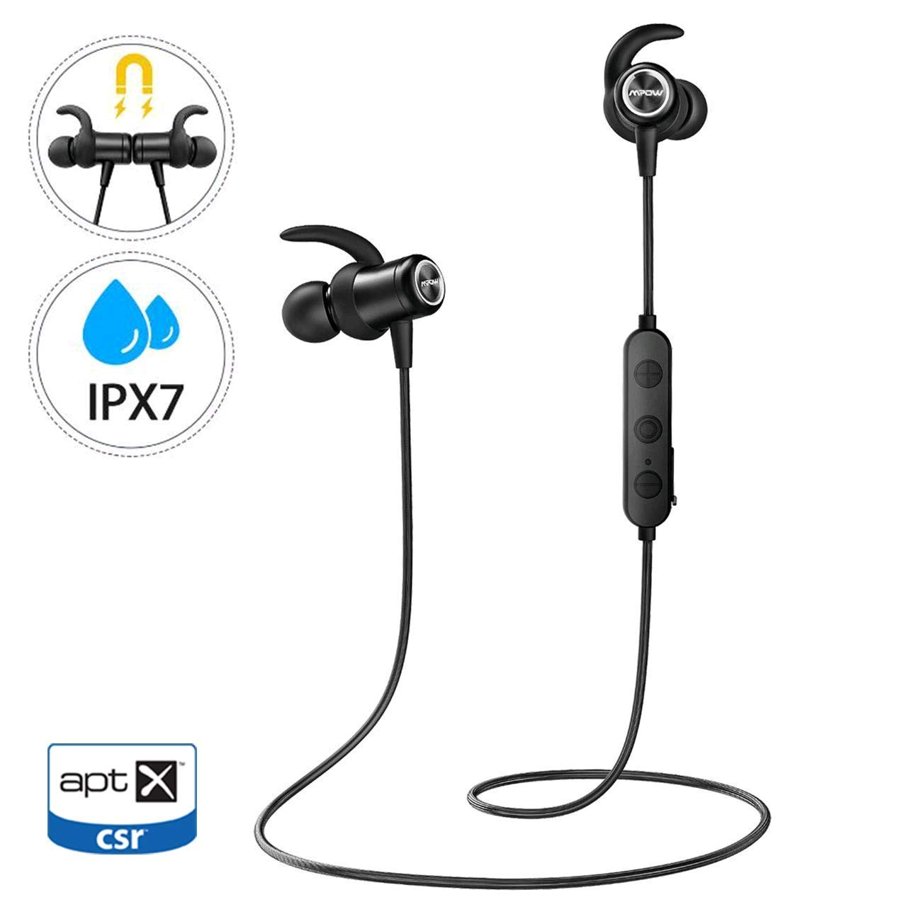 Mpow S11 Bluetooth 5.0 Headphones £13.99 @Amazon