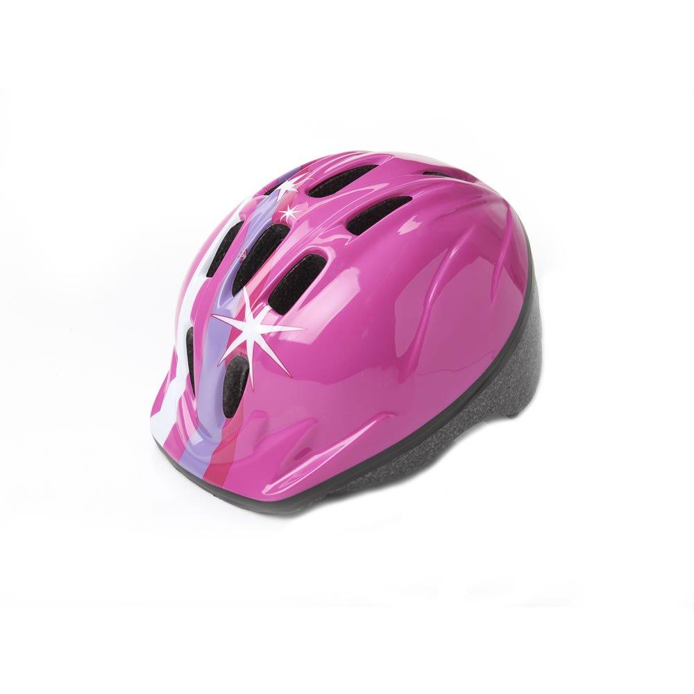 Wilko Junior Pink Cycle Helmet 48-52cm £2