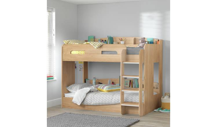 50% off Argos Home Ultimate Oak Effect Bunk Bed