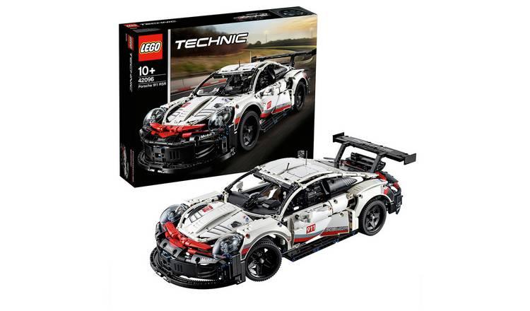 LEGO Technic Porsche 911 RSR Car Replica Model @Argos