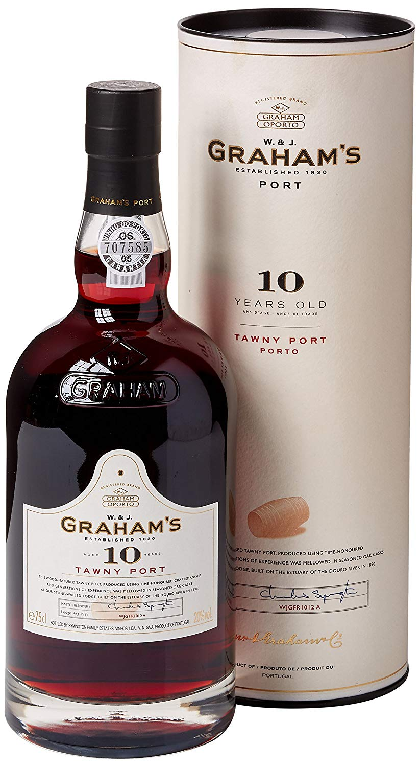 Grahams 10 Years Old Tawny Port, 75 cl, £13.5 Prime/£17.99 Non Prime