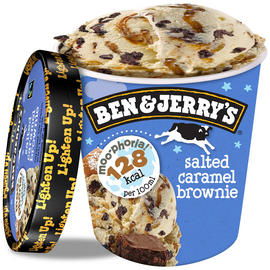 Ben & Jerry's Moo-phoria Salted Caramel Brownie Ice Cream Tub 500ml £2 @Iceland