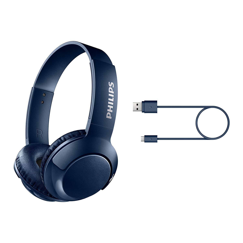 Philips on-ear headphones on-ear Bluetooth headphones