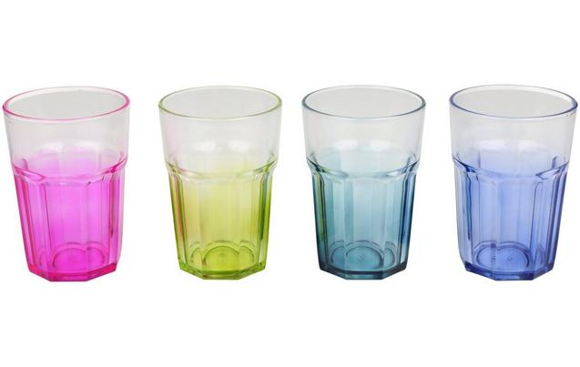 Halfords Plastic Tumblers set of 4 is rated for £1