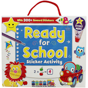 81% OFF Ready for School Sticker Activity Pack £2.5 FREE C&C@ The Works