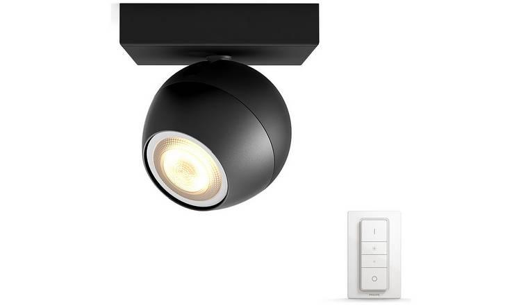 Philips Hue Buckram 5.5W 230V GU10 Spotlight £32.99 at Argos