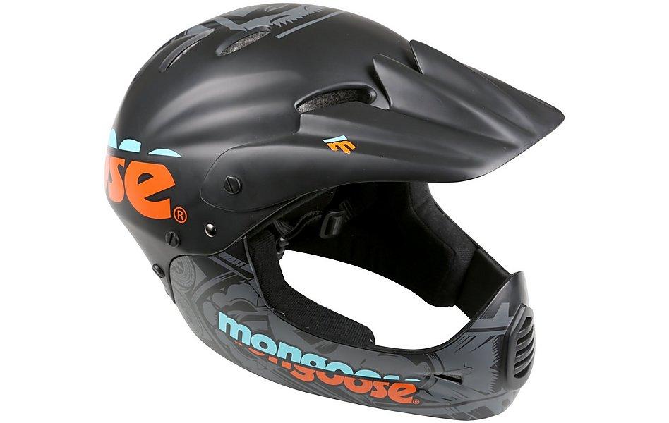 Mongoose Full Face Kids Bike Helmet @ Halfords