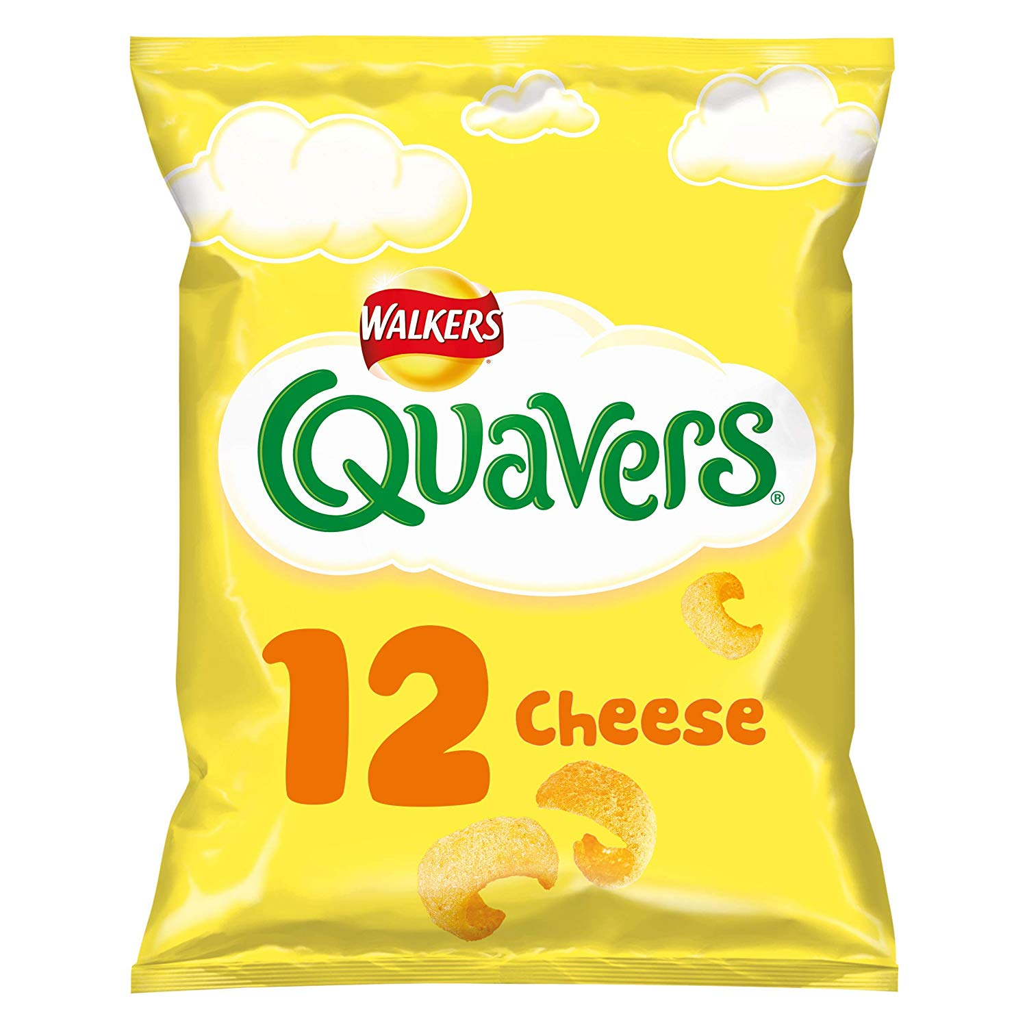 Amazon Pantry Walkers Quavers Cheese Snacks 12 x 16g – £1.5
