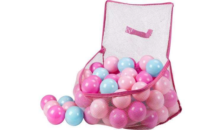 Chad Valley Bag of 100 Pink and Blue Play balls £3.96 at Argos