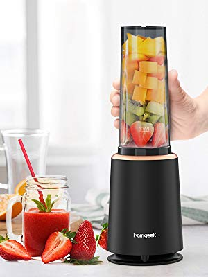 Homgeek Personal Blender Smoothie Maker with 1 * 400ML Travel Bottle,230W – £20 at Amazon