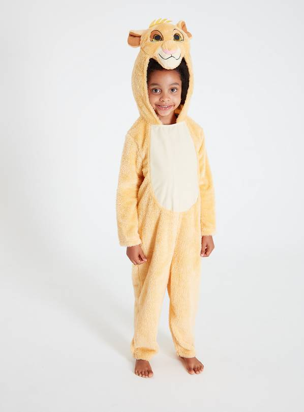 Online Exclusive Disney Lion King Yellow Simba Costume at Argos