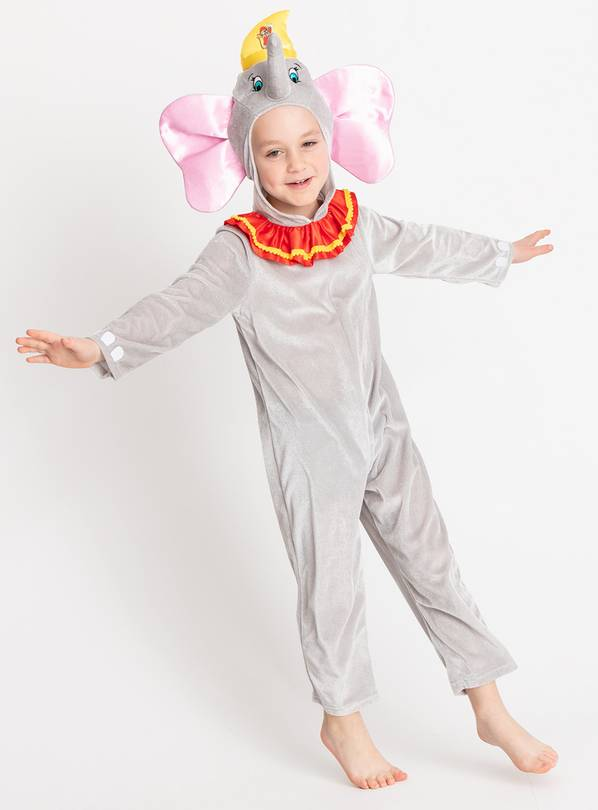 Online Exclusive Disney Dumbo Grey Costume at Argos