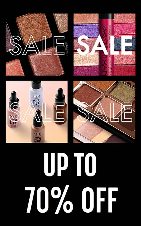 NYX Makeup Up to 70% OFF
