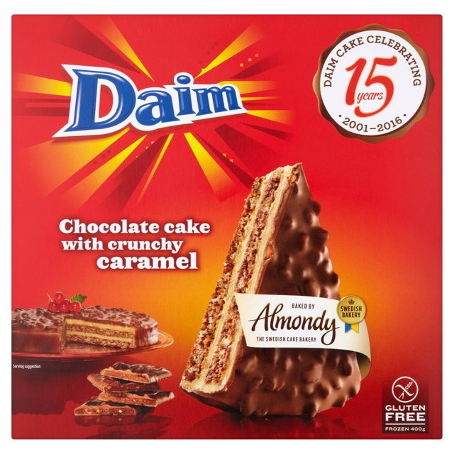 Daim Chocolate Cake With Crunchy Caramel 400g @ Morrisons
