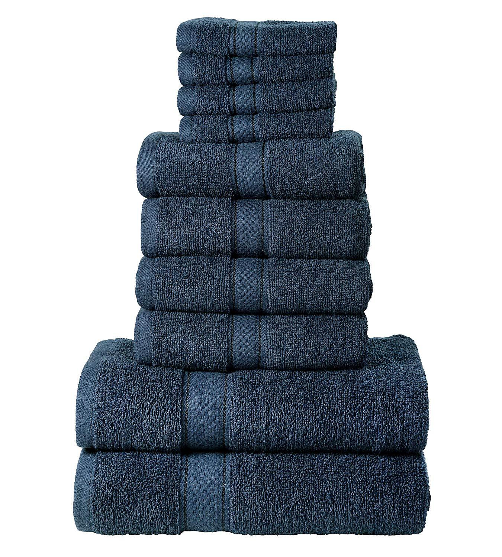 Todd Linens Bath Towels Bale 10-Piece Set