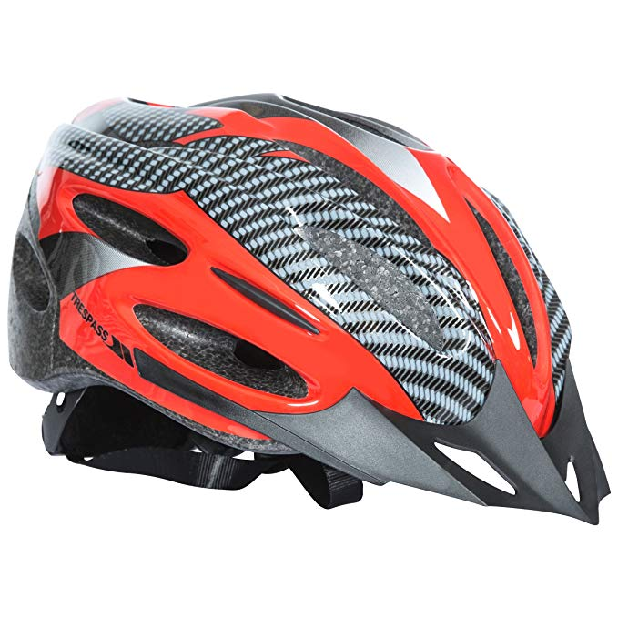 Trespass Crankster bicycle helmet £14.57 Prime +£4.49 NP