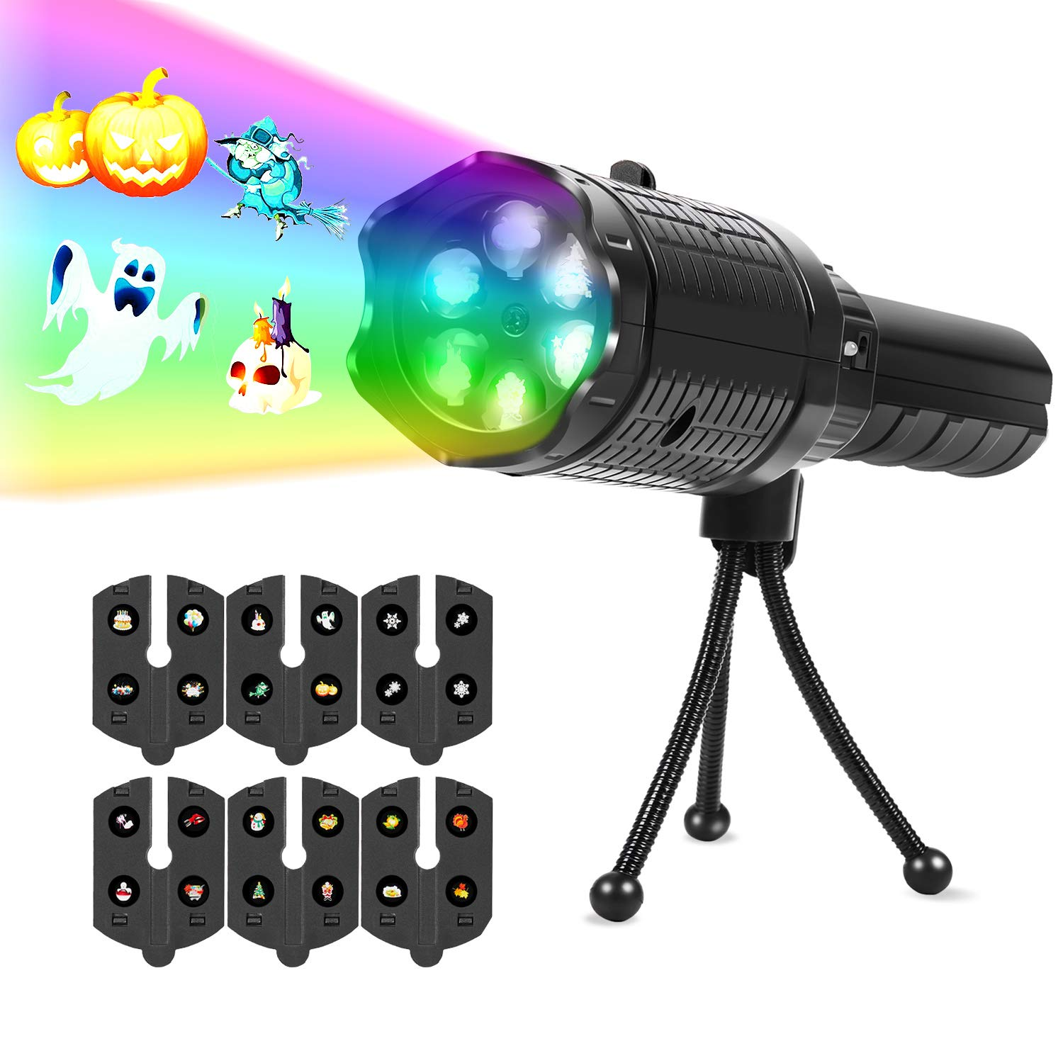 70% off  Toolmore Portable LED Projector Lights with Tripod