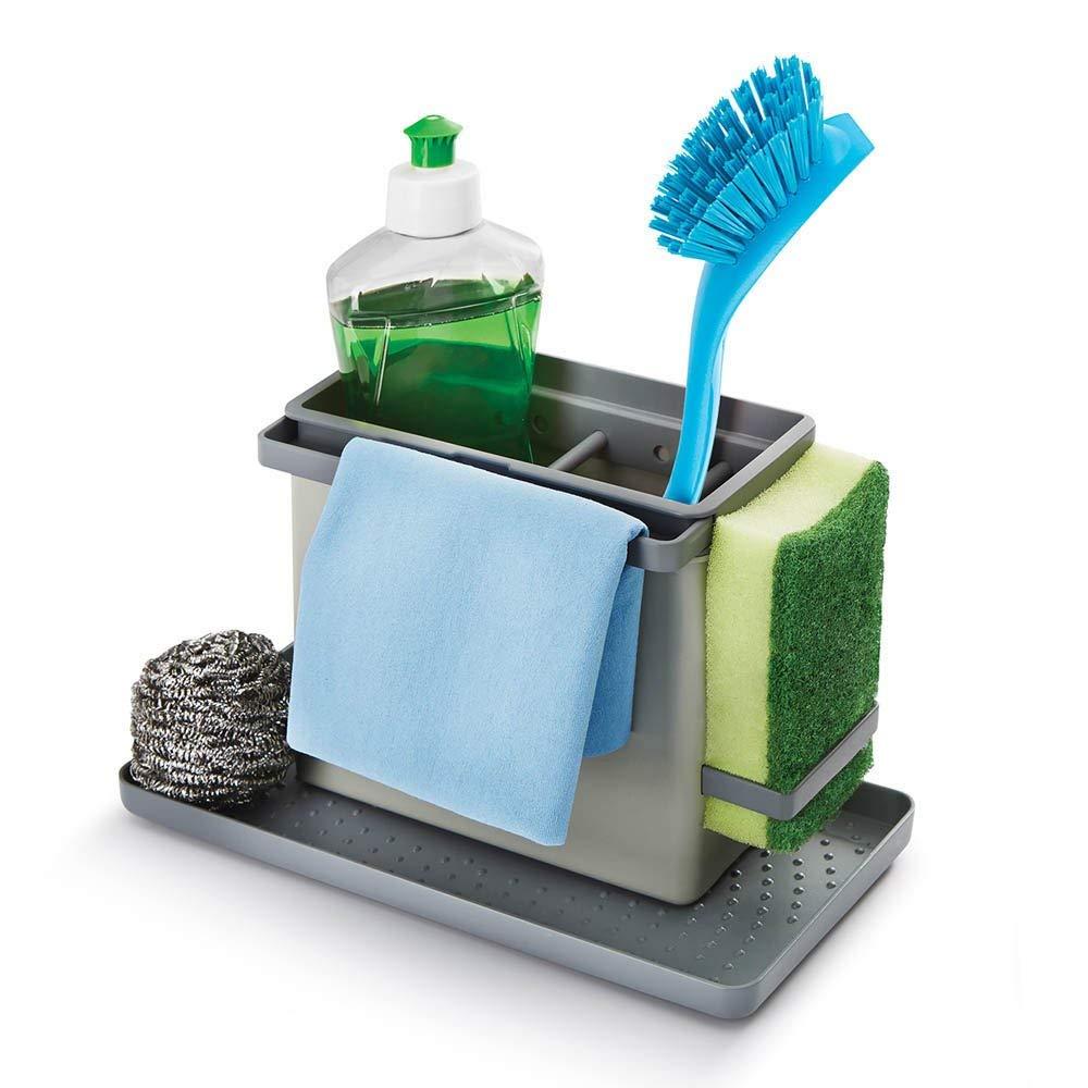Metaltex Tidy-Tex Kitchen Sink Cleaning/Washing Up Organiser