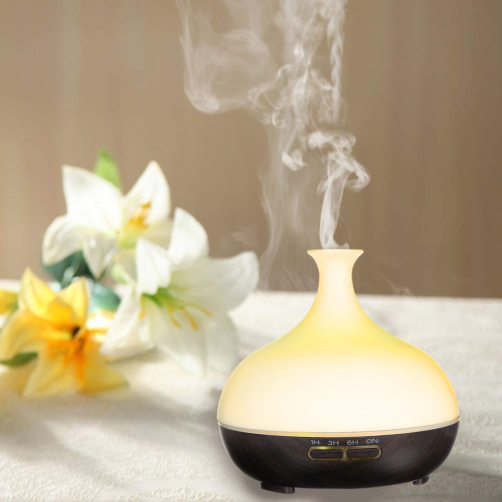 Essential Oil Diffuser, 300ml Aromatherapy Ultrasonic