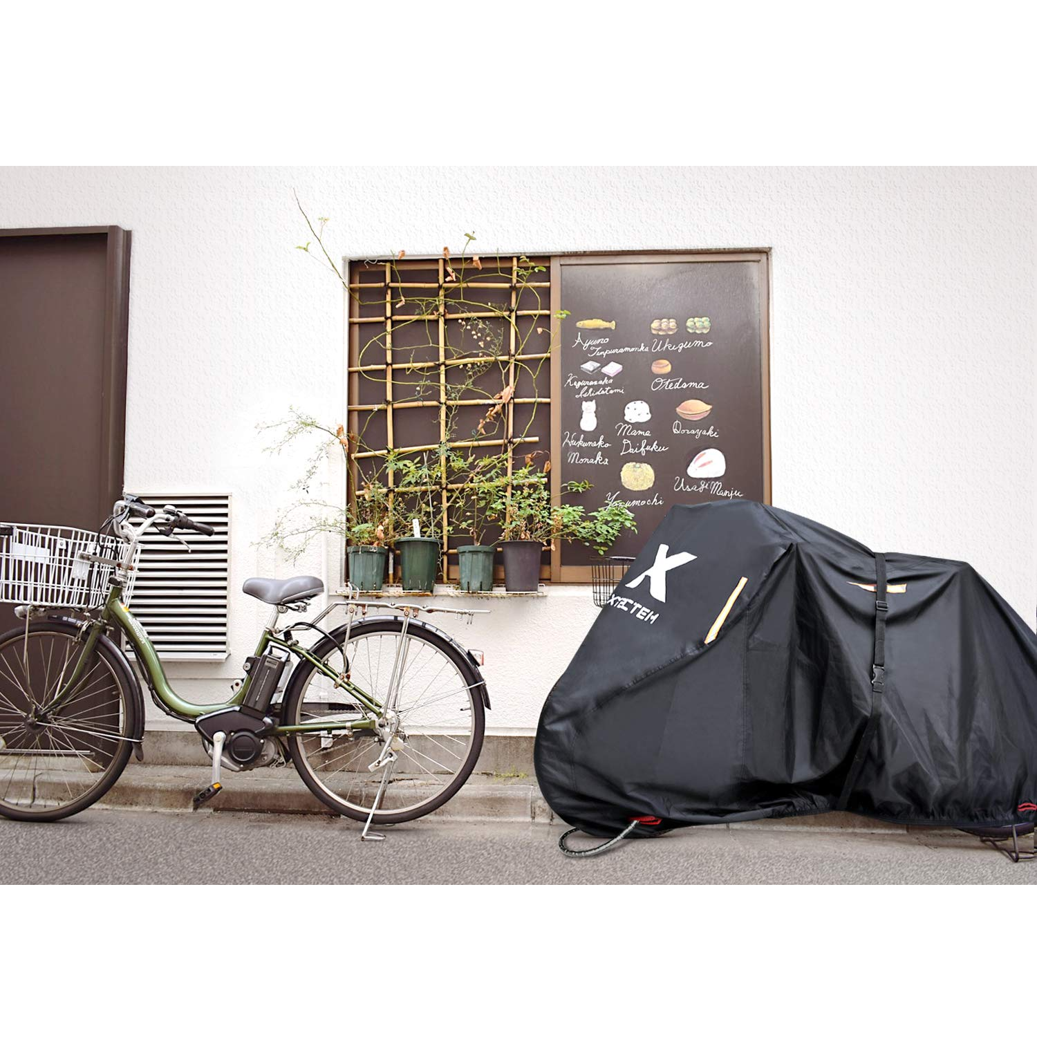 XYZCTEM Bike Cover, Universal Fit for Bicycles with up to 29in Wheels