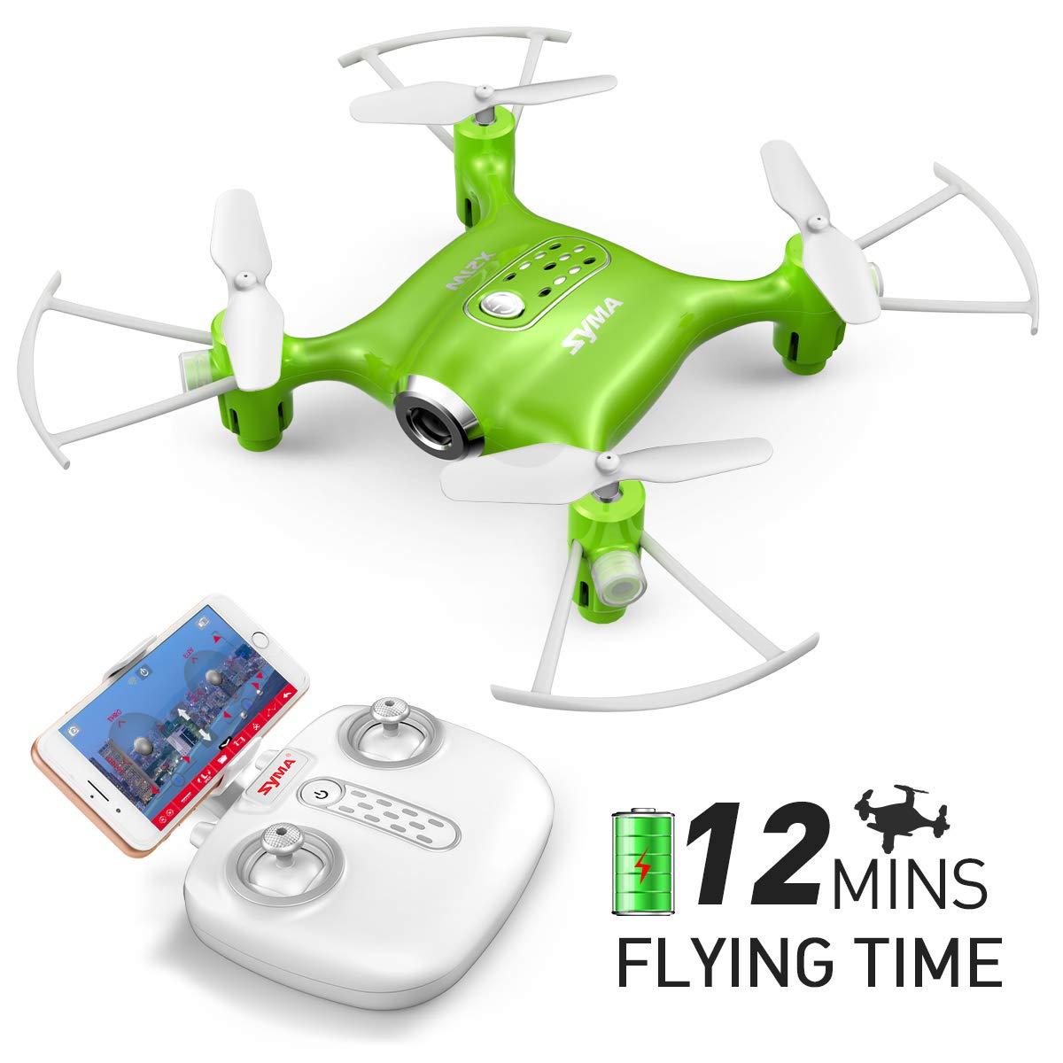 70% off Mini Drone with Camera Syma X21W RC Quadcopter for Children