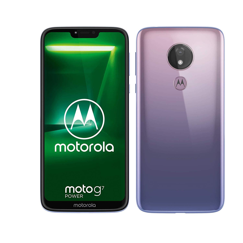 motorola moto g7 Power 6.2-Inch Android 9.0 Pie UK Sim-Free Smartphone – Violet
