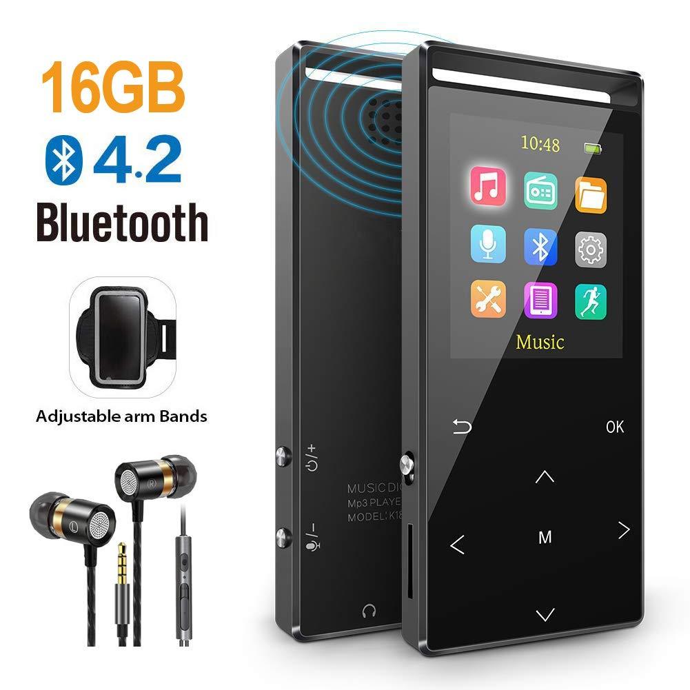 1/2 Price MUSRUN MP3 Player, 16GB MP3 Players