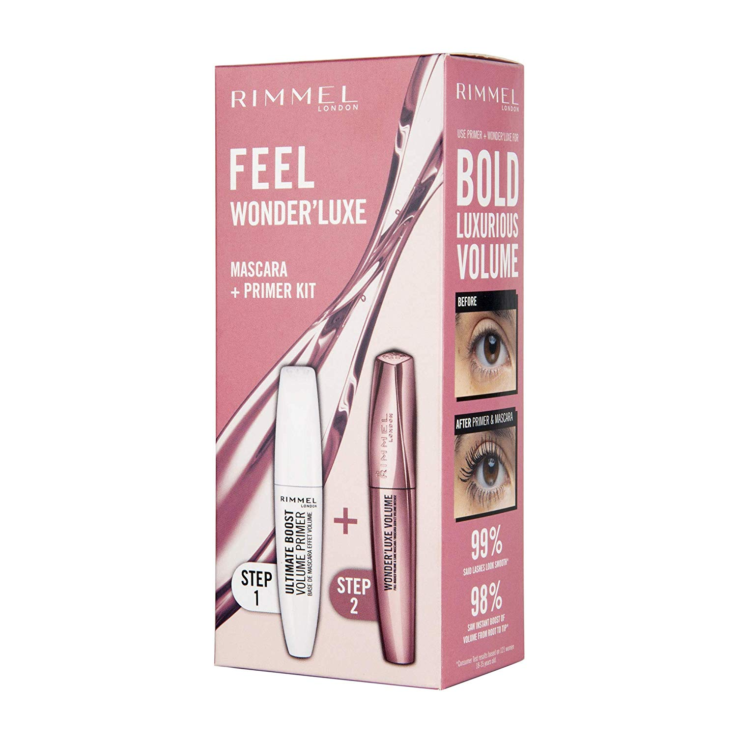 Up to 70% off Rimmel Feel Wonder'Luxe Giftset