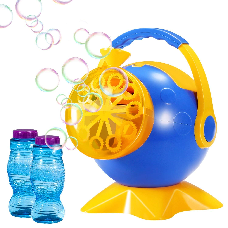70% off Theefun Bubble Machine, Automatic Bubble Blower Durable Bubble Maker