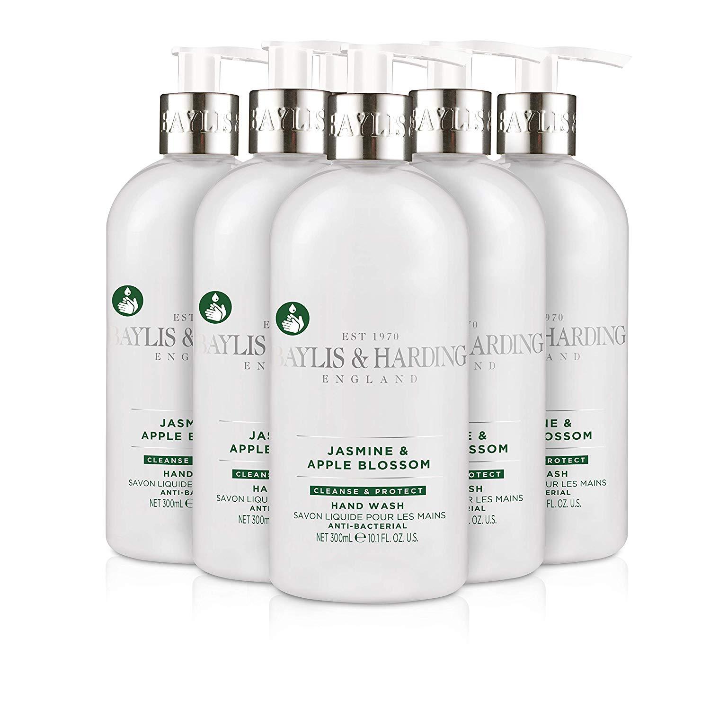 6 Packs – Baylis & Harding Jasmine and Apple Blossom Anti Bacterial Hand Wash