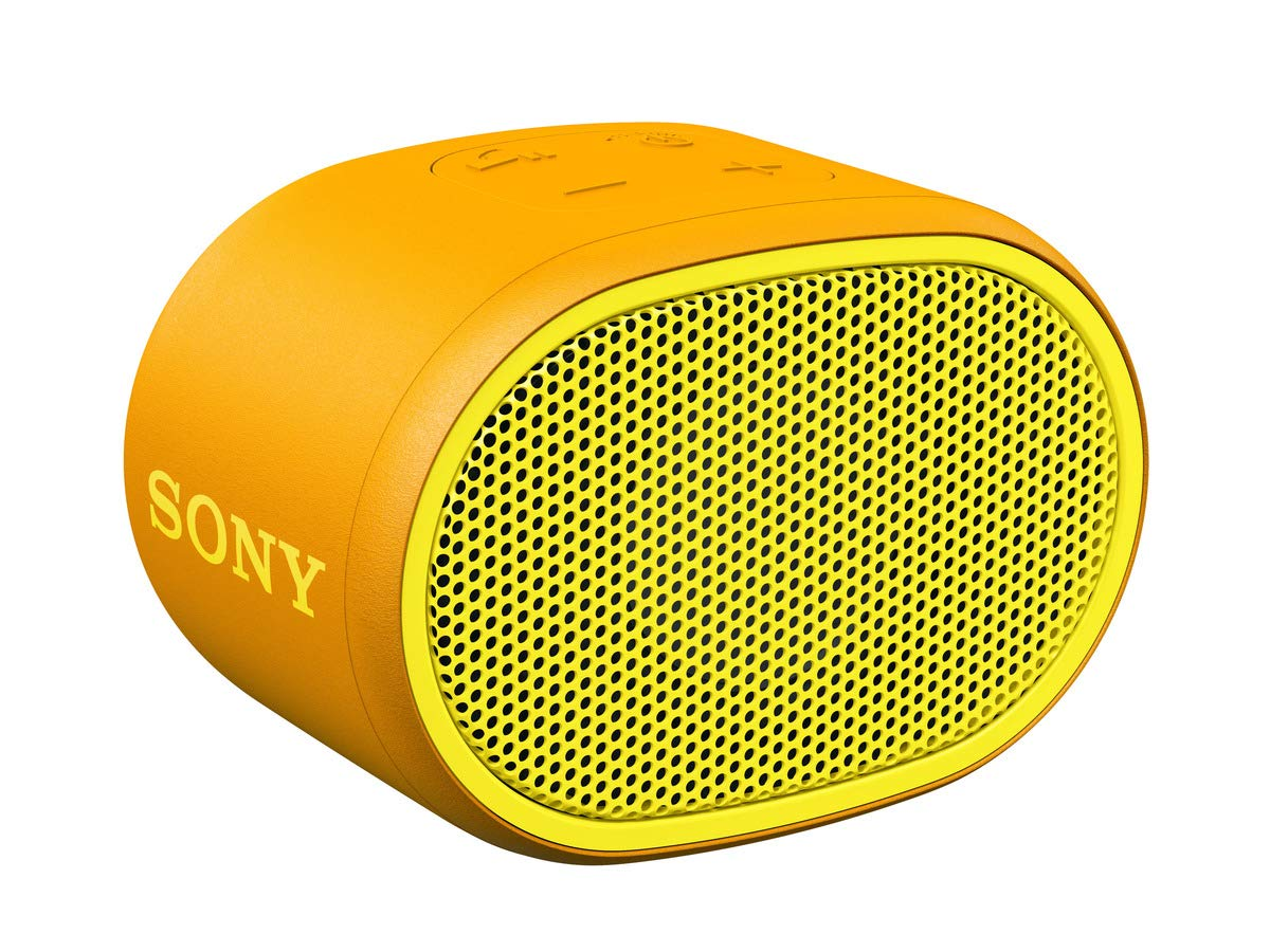 Sony SRS-XB01 Compact Portable Water Resistant Wireless Bluetooth Speaker with Extra Bass for £19 at Amazon