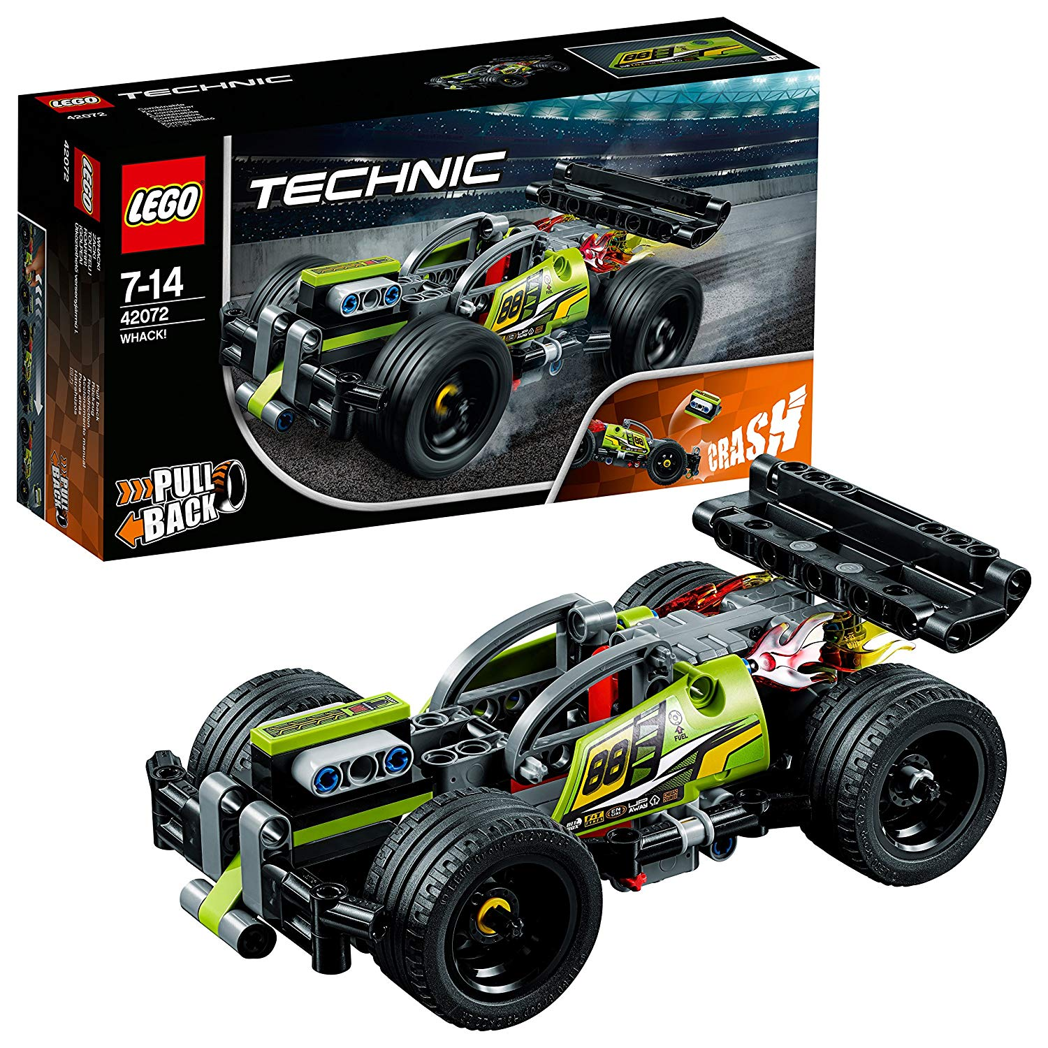 LEGO 42072 Technic WHACK! High-Speed Action Vehicles Building Set