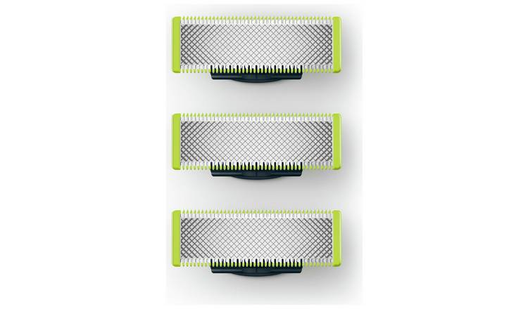 Philips OneBlade Face Refill – Pack x3 at Argos