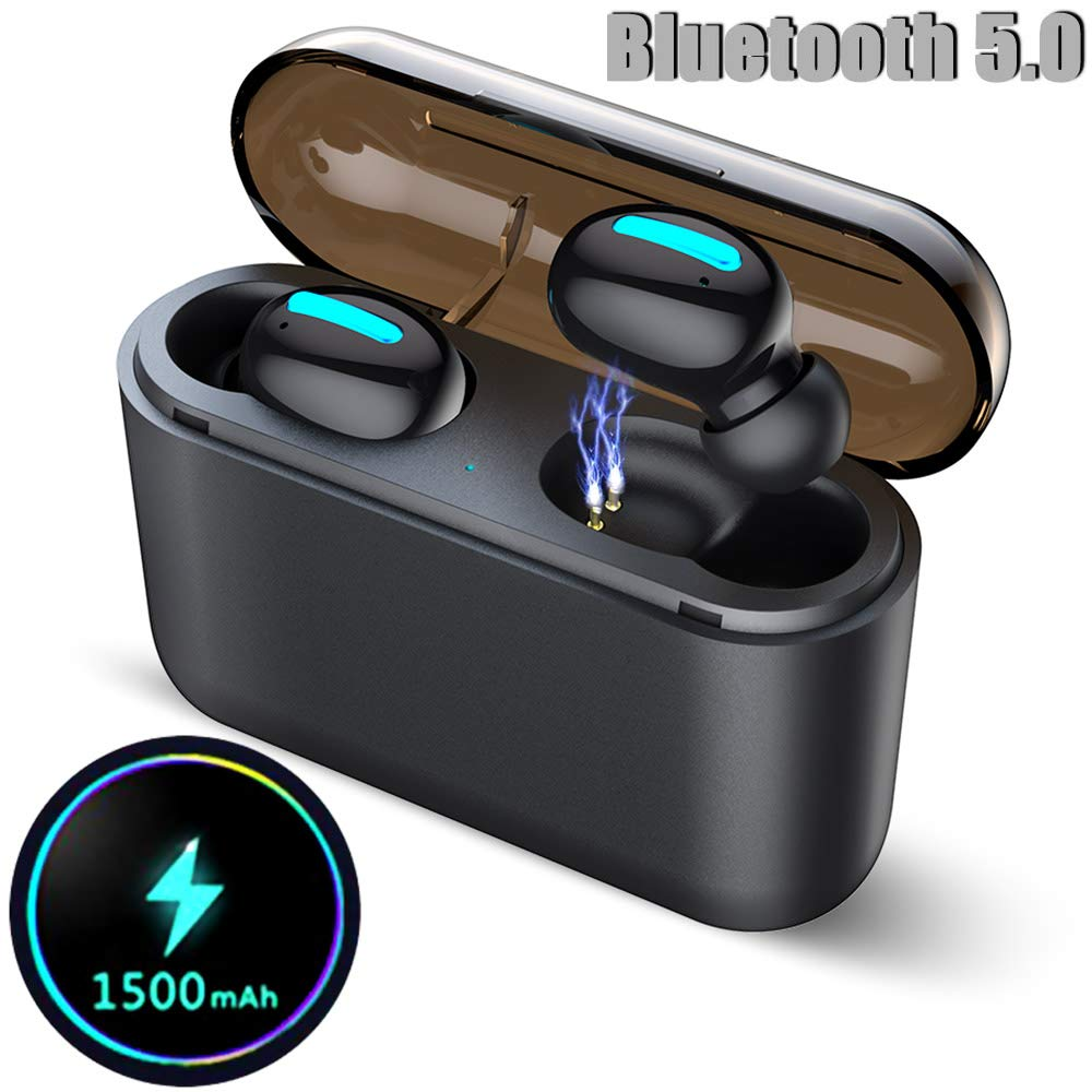 Wireless Earbuds, Bluetooth 5.0 Earbuds with Microphone, True Wireless Headphones