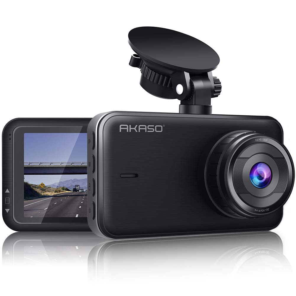 AKASO C320 Dash Cam, 1080P FHD Dashboard Car Camera Recorder