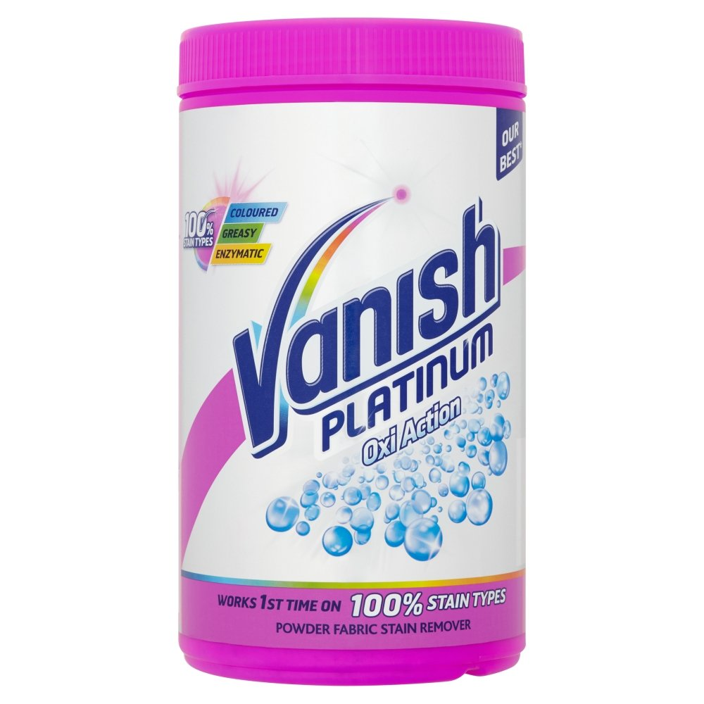 Vanish Fabric Stain Remover, Platinum Oxi Action Powder, 1.41 kg – £7.5