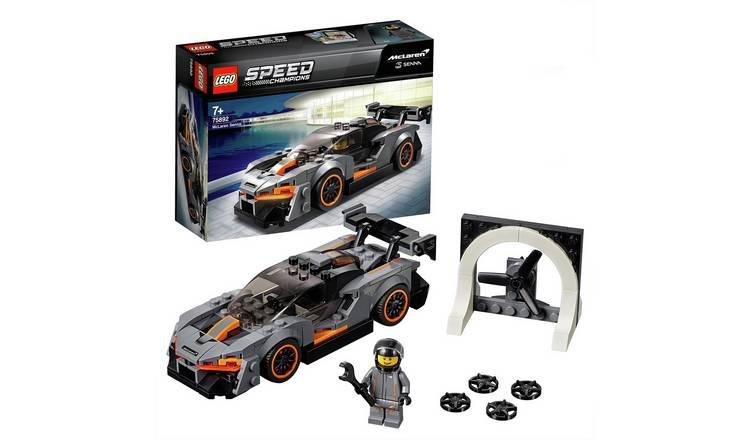 LEGO Speed Champions McLaren Senna Model Toy Car £8.5 at Argos