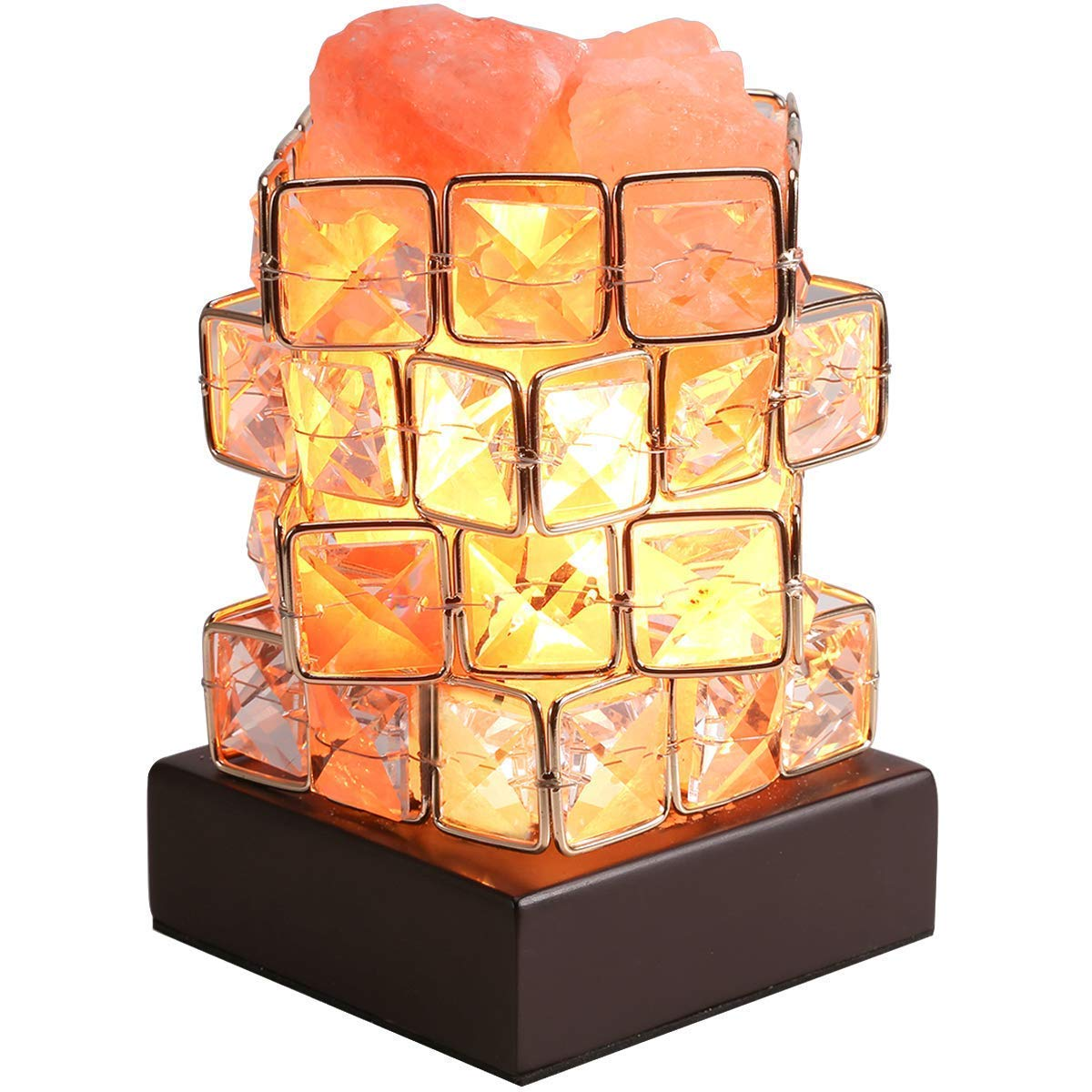 GreenClick Himalayan Crystal Salt Light Natural Pink