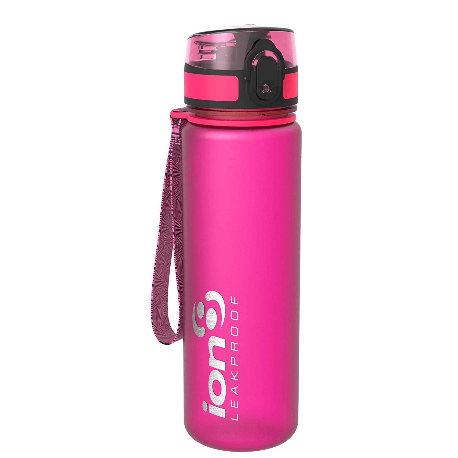 Ion8 Leak Proof Slim Water Bottle, BPA Free, 500ml / 18oz