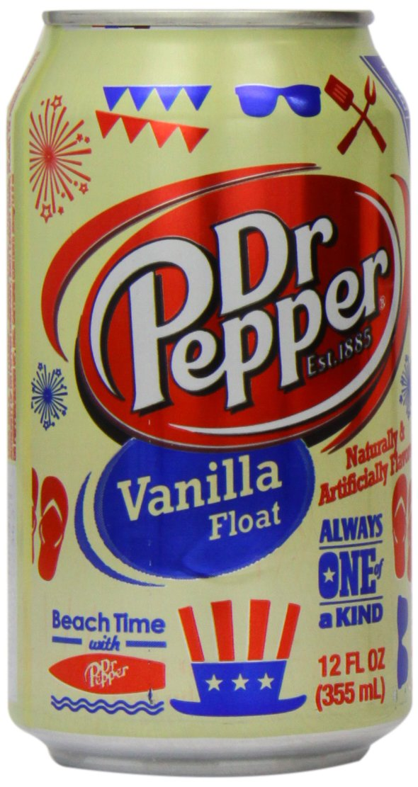 Dr Pepper Vanilla Float 12 oz (Pack of 6)
