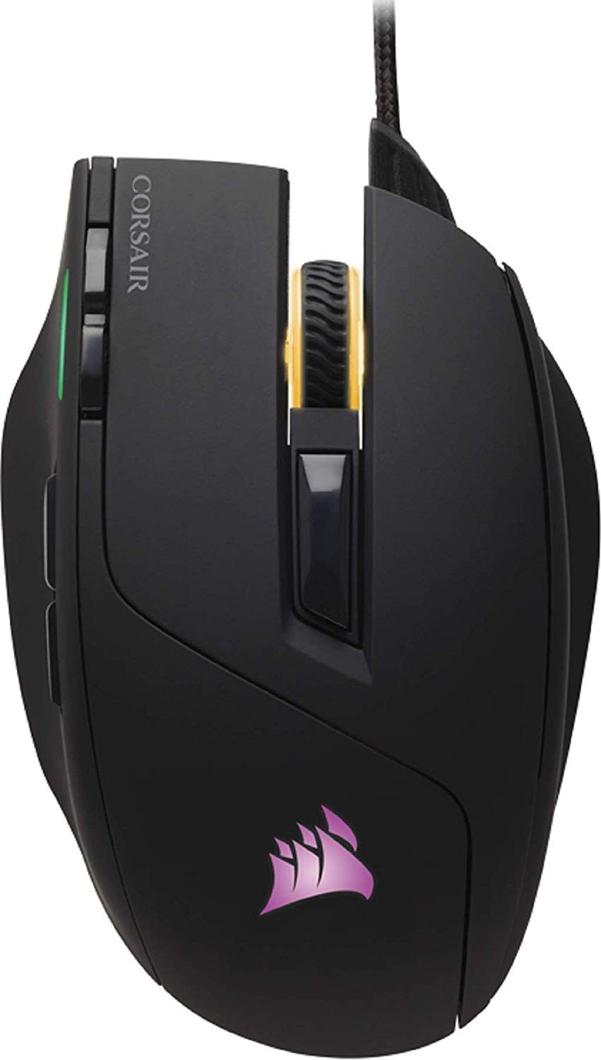 Corsair Sabre RGB, Optical Gaming Mouse (10000 DPI Optical Sensor, Lightweight, RGB Multi-Colour Backlighting)