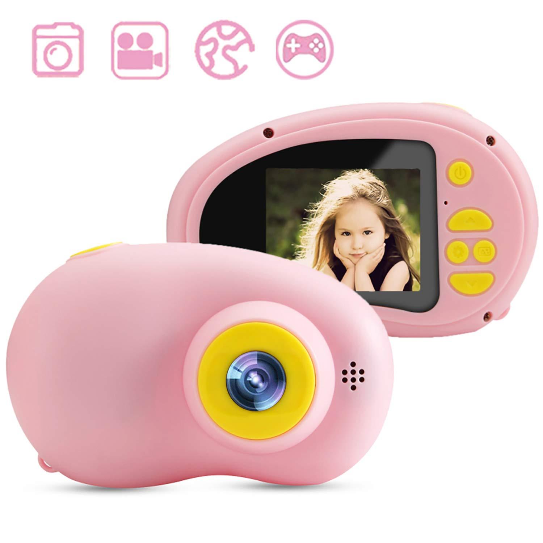 Micoke Kids Camera 2019 Upgrade Children Digital Cameras with Strap, Sticker