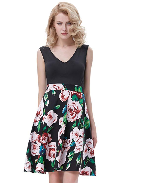 87% off GRACE KARIN Women Vintage Event High Tea Dress