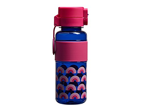 Leak Proof, Rainbow Pattern Design with Carry Handle – Large 745ml Water Bottle