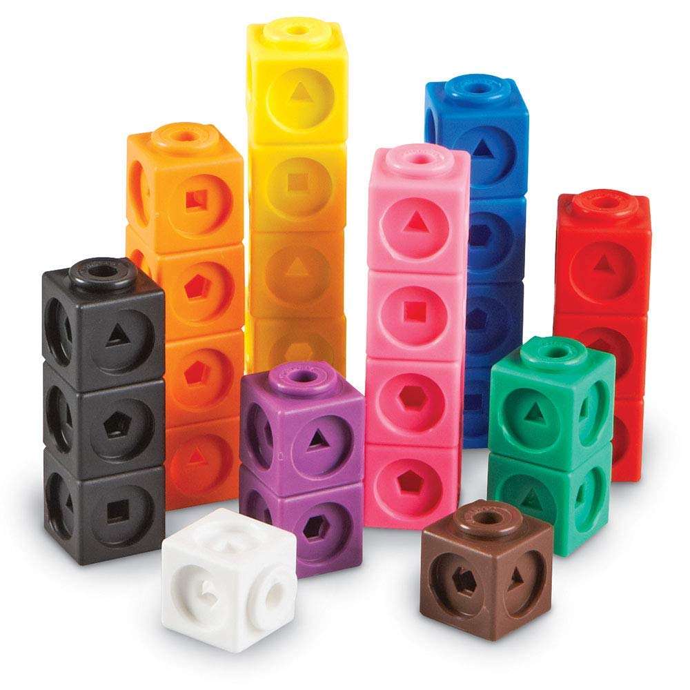 Learning Resources Mathlink Cubes (Set of 100) – £6.16
