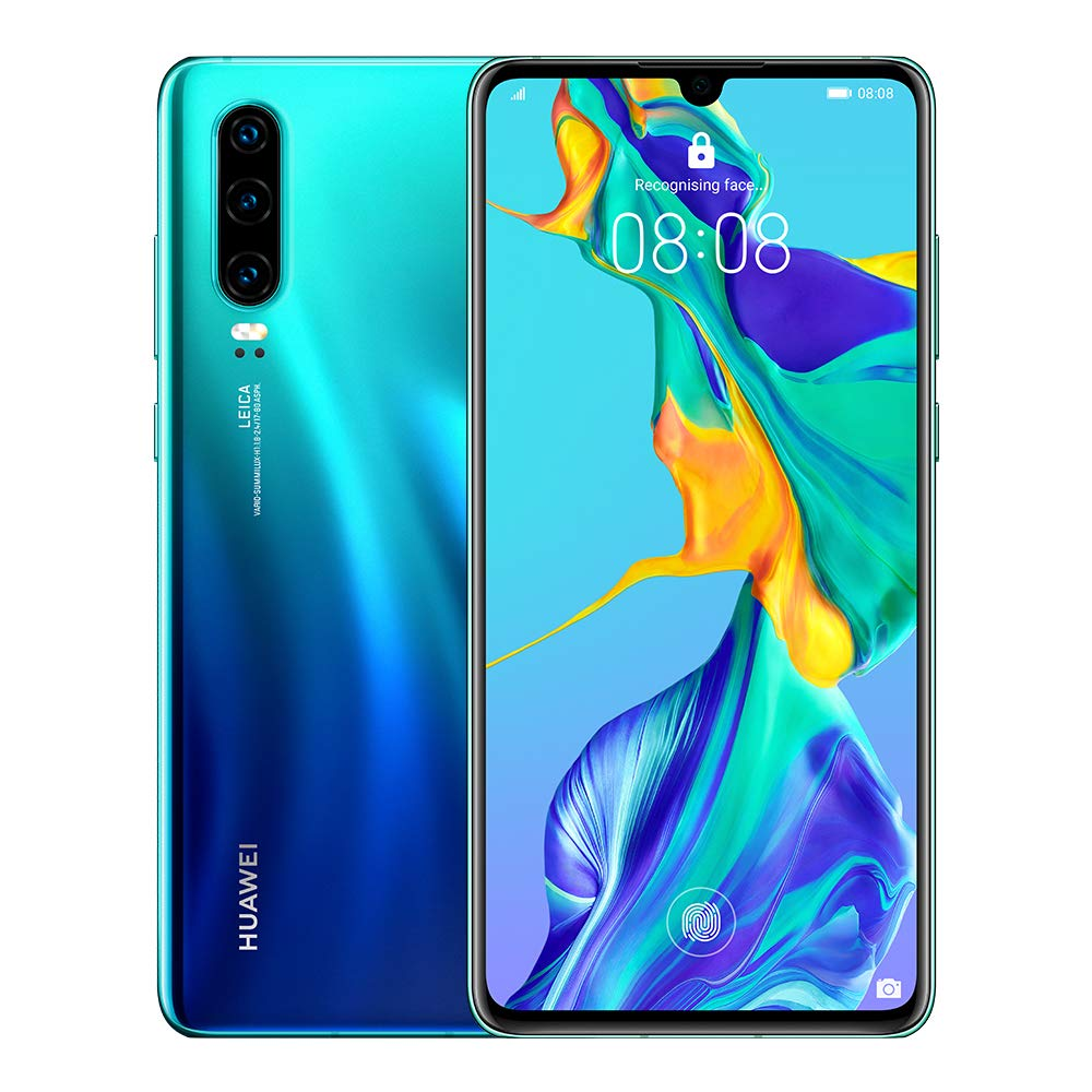 Huawei P30 128 GB 6.1 Inch OLED Display Smartphone, UK Version