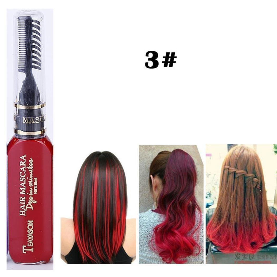 Minlop 13 Colours Hair Color Chalk Comb Free Delivery