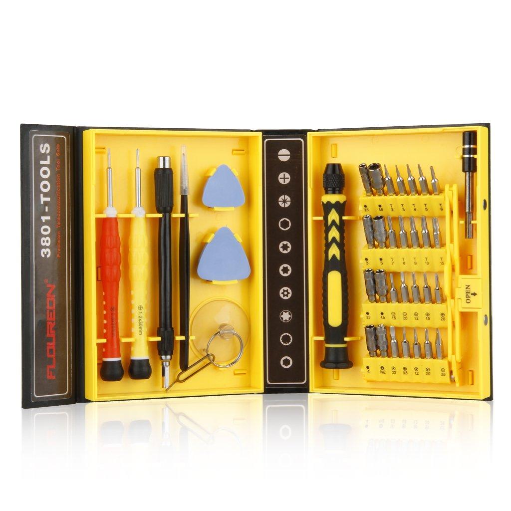 Floureon 38-in-1 Screwdrivers Set, Magnetic Precision Repair Tool Kit