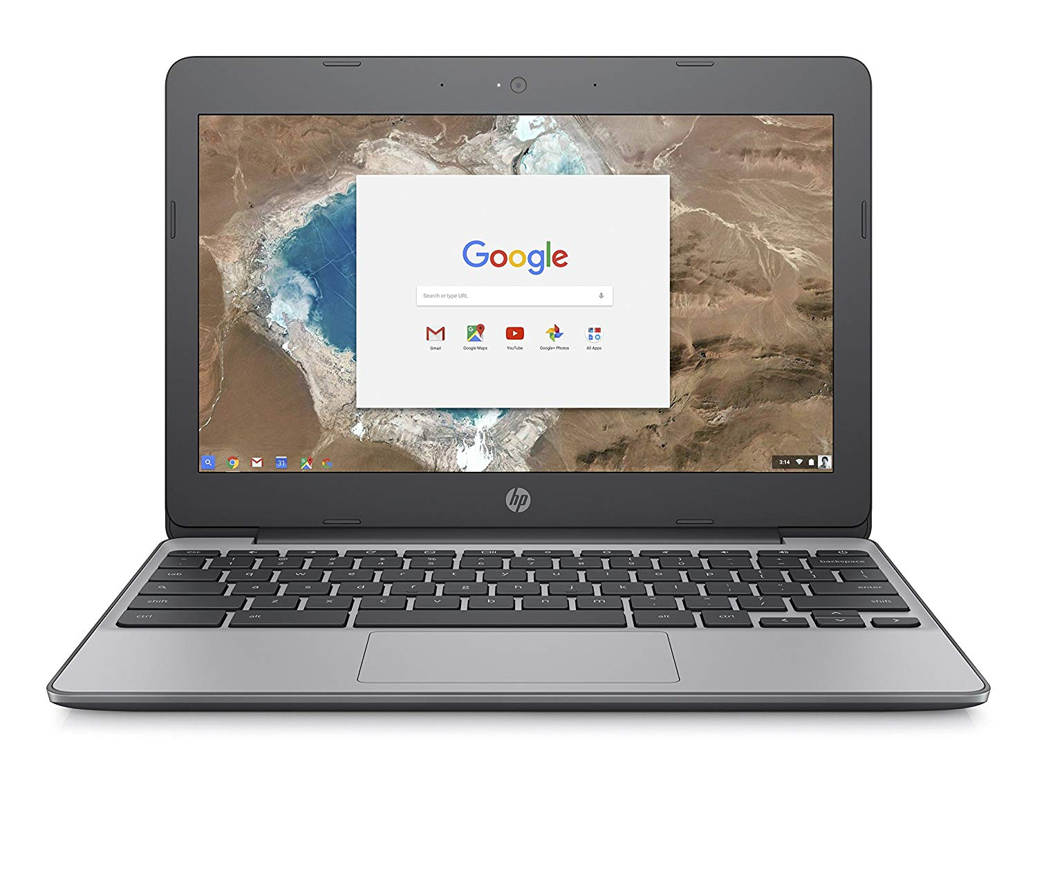 HP Chromebook 11-v001na 11.5 Inch Laptop – (Silver)